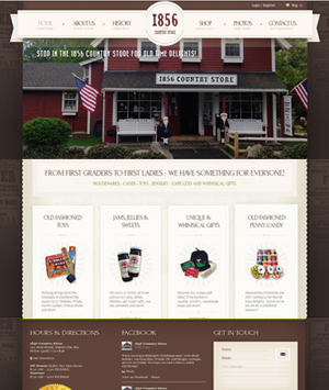 1856-Country-Store-WordPress-Website
