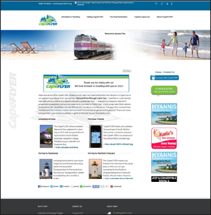 wordpress website design for transportation