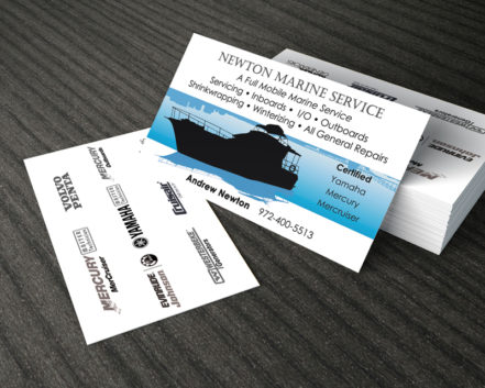 Double Sided Business Card Designed and Delivered