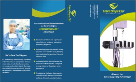 medical product brochure design
