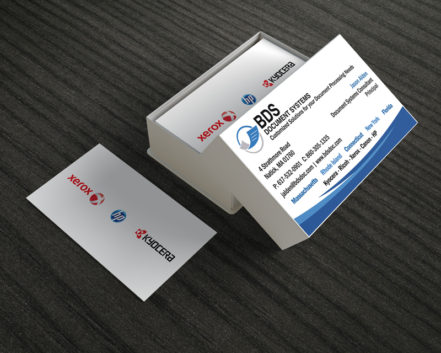 Custom business card design bds bizcardssm double sided business card designed reheart Images